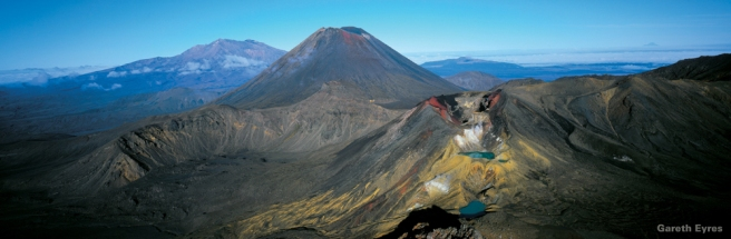Tongariro National Park or the land of Mordor? These special effects are for real!