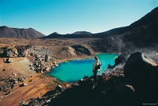 The day hike known as the Tongariro Crossing promises close encounters with volcanic phenomena.