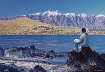 hike on Queenstown's scenic backdrop